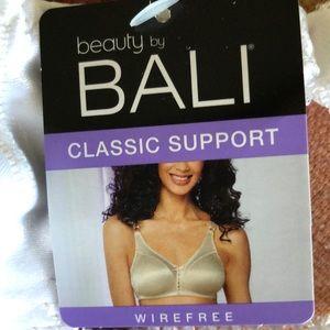 NWT Bali Wire Free Bra